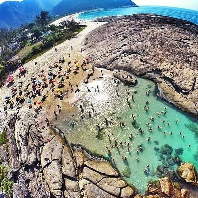 Praia de Itacoatiara- Niterói-Rio de Janeiro-Brasil