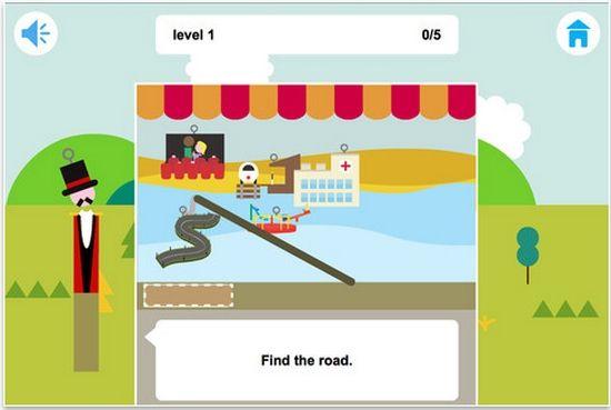 Funland, un juego gratuito de la Universidad de Cambridge para que los niños practiquen inglés #Android #iOS