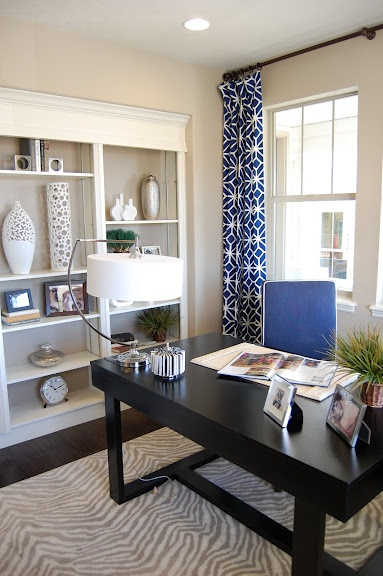 Design Gal & Her Handyman: {parade of homes} Love the inexpensive built-ins.  Not real cabinetry so much less expensive but it totally works!