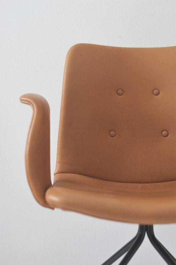 kontorstol-officechair-designerstol-danishdesign-benthansen-leather