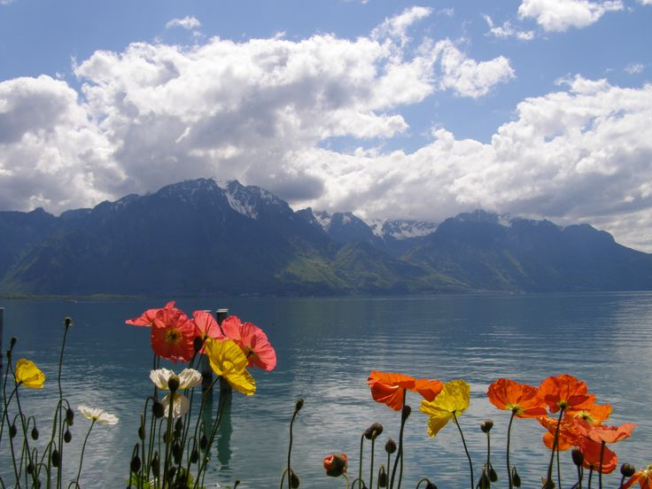 10 easy acts of kindness anyone can do - pic: Lake Geneva in Montreux, Switzerland