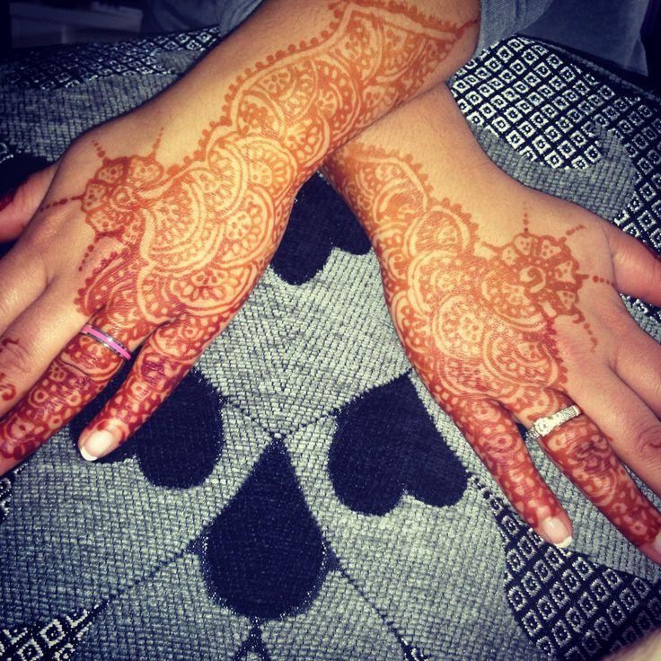 Bruids henna