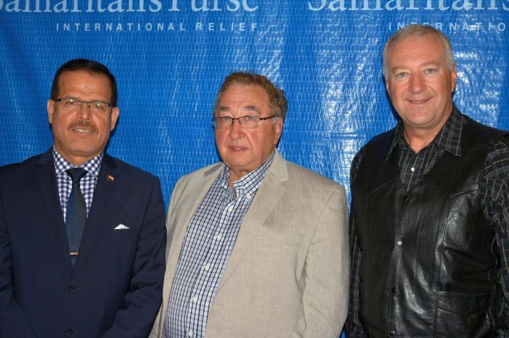 Iraq's ambassador to Canada visited Samaritan's Purse Canada's headquarters in Calgary in July to thank us and our donors for saving lives and easing suffering in the war-torn Middle Eastern nation.