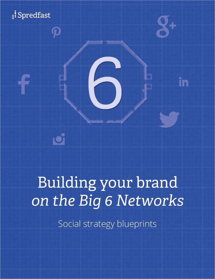 Building Your Brand on the Big 6 Networks