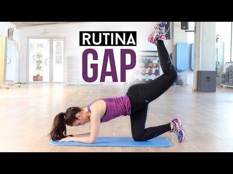 Rutina de GAP | Glúteos, abdomen y piernas - YouTube