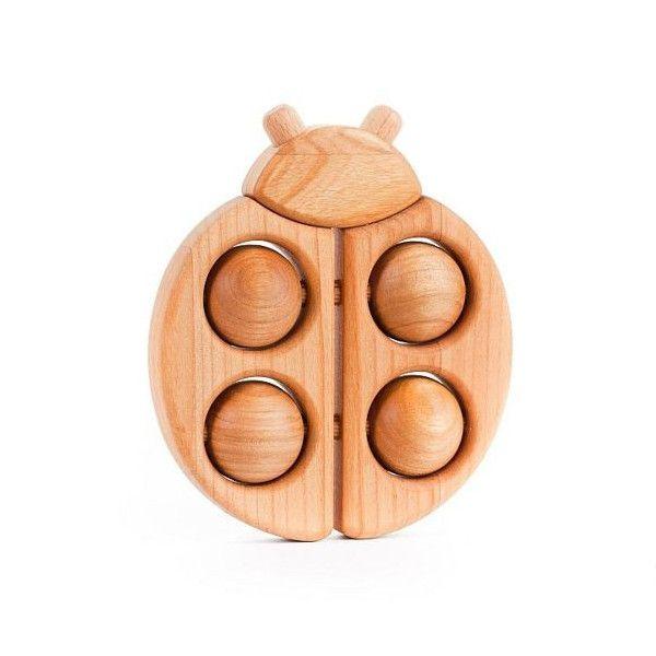 Coccinella - legno naturale