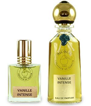 "Vanille Intense Eau de Parfum by Parfums de Nicolai - ""Hands down one of the most interesting and complex vanilla fragrances we have encountered, Nicolai's latest creation combines the warm sumptuousness that we came to expect from this impeccably chic line with surprising green earthiness...."" Luckyscent"