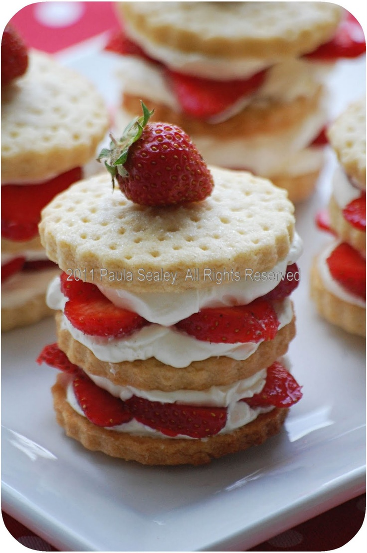 19 Best Images About Afternoon Tea Shortbead On