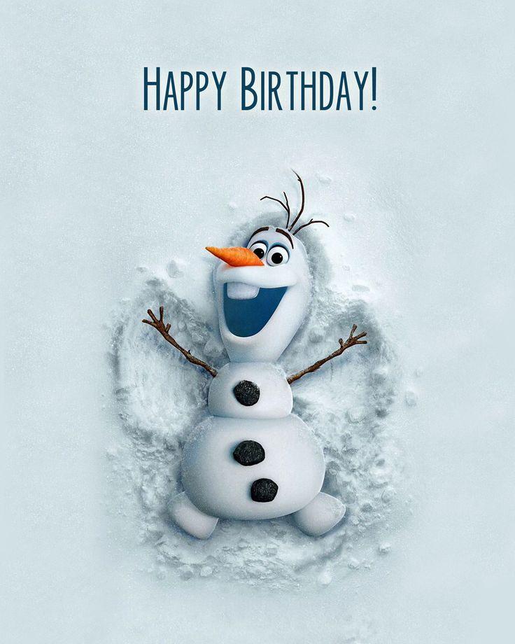 Картинки зима день рождения, открытка онлайн немецкие