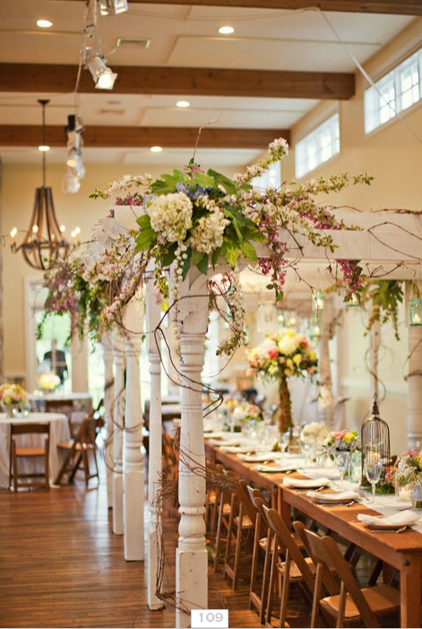 Signature Farm Tables by Stonegate Event Rentals   @Stonegate Event Rentals {Ben Morris}    at King Family Vineyards by Pat's Florals