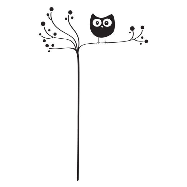 Clever and cute, this beautiful owl silhouette makes a modern impression on walls. Easy to install, just peel and stick. This contemporary wall decor makes decorating fun. Leave no sticky residue behind.