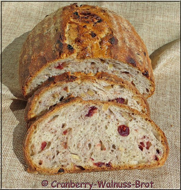 Cranberry-Walnuss-Brot