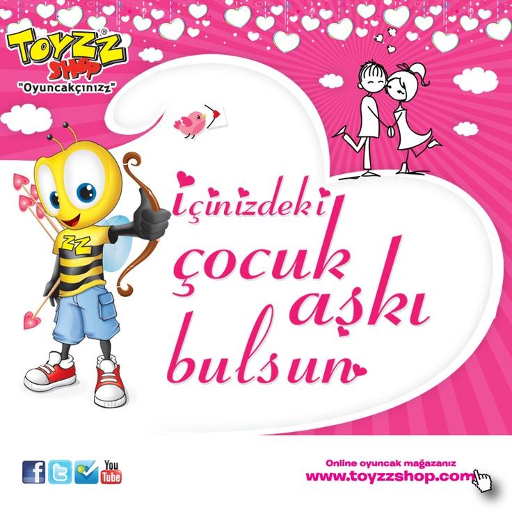 "Sevginizi anlatmanın ""en sevimli"" yolu Toyzz Shop'ta!"