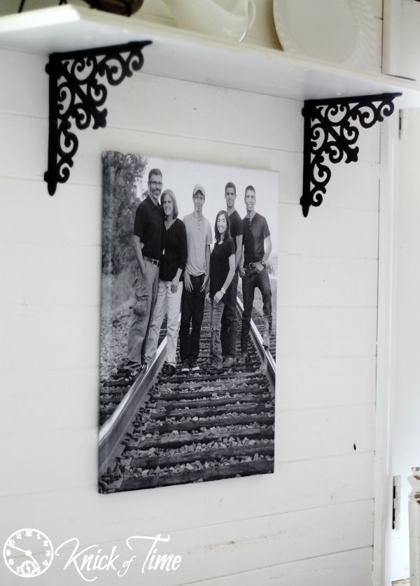 Create a Gallery Wrapped Photo Canvas for Under $10 in less than 30 Minutes…