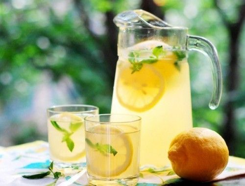 Классические домашний лимонад