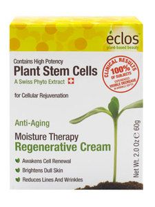 Eclos Moisture Therapy Regenerative Cream $24.99 ~ Wonderful make-up prep! Smooths out fine lines, and is a must for thirsty skin.  #eclos #eclosskincare #freemanbeauty #skincare #applestemcells #antiaging