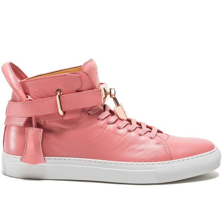 Hand crafted in the luxury footwear capital of the world Civitanova Italy  the 100MM hightop sneaker is artfully constructed of fullgrain Italian  Nappa