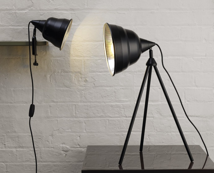 54 best lighting images on pinterest floor lamp base floor this lightweight photographic black metal clamp desk lamp is a functional bold statement piece inspired publicscrutiny Image collections