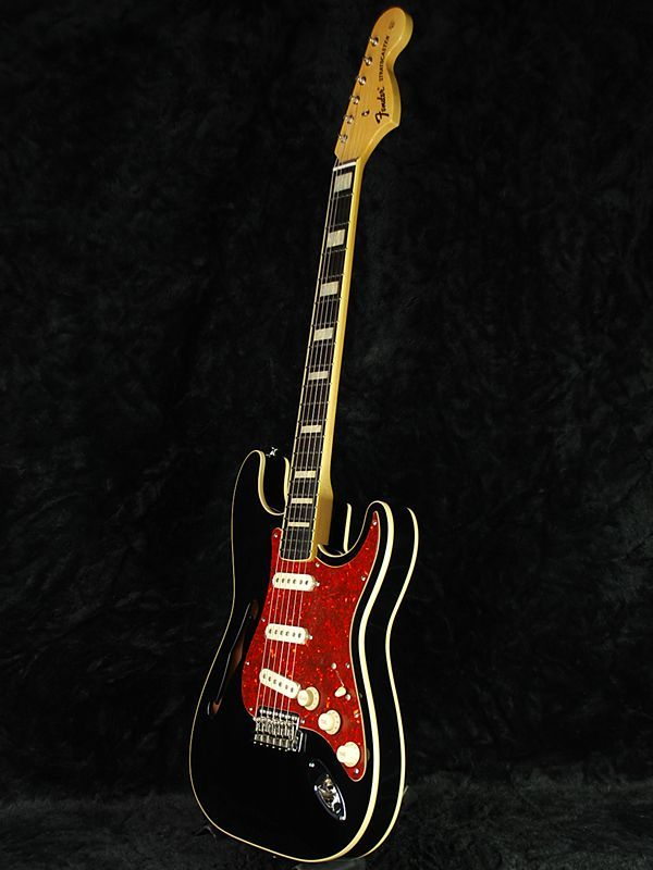 "Fender Japan ""Thinline"" Strats ~ Strat-O-Blogster Guitar Blog"