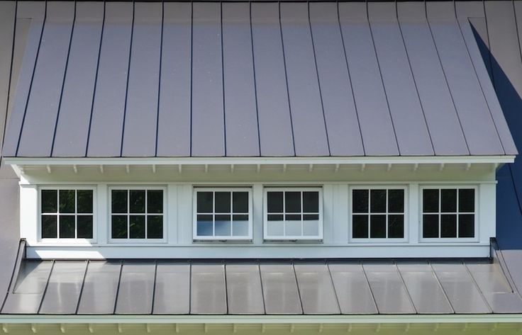 Classy shed dormer