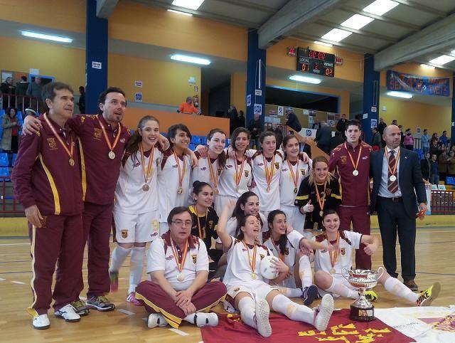 Final del Campeonato de Selecciones Territoriales de Fútbol Sala Femenino Sub-17. Triunfo para la Región de Murcia. Todos los resultados en www.rfef.es