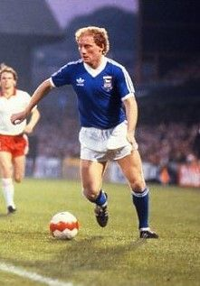 Alan Brazil of Ipswich Town in 1981.