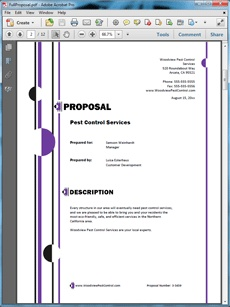 17 Best ideas about Sample Business Proposal on Pinterest ...