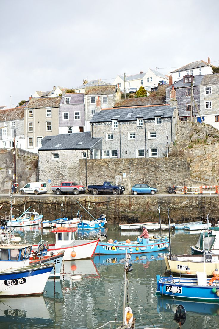 Mevagissey Harbour, Cornwall England