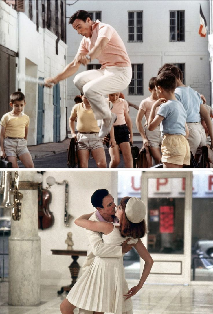 Gene Kelly in The Young Girls of Rochefort (1968). Costume design by Marie-Claude Fouquet & Jacqueline Moreau | Nørr Film
