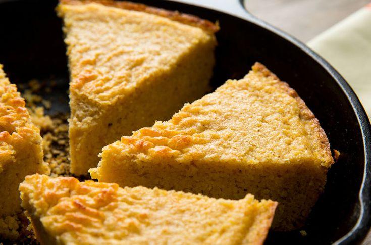 Melissa Clark bakes tender, flavorful cornbread in a cast-iron pan.