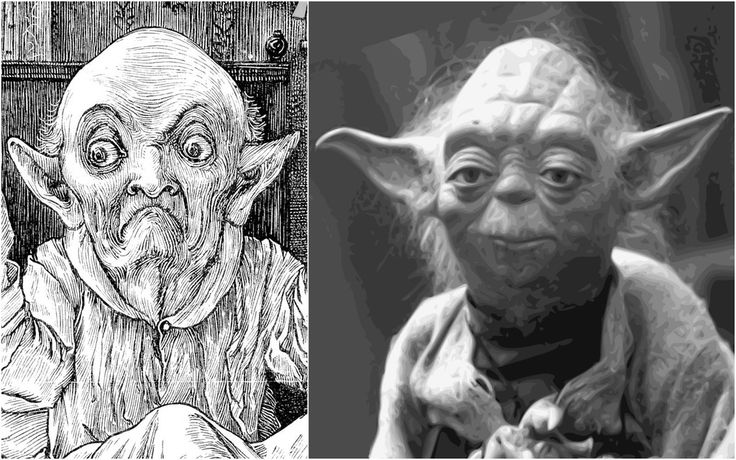 Yoda's Relative in 1876 : StarWars
