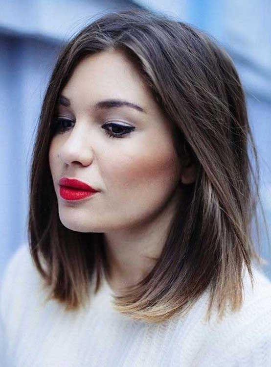 21 Beste Kurz Bis Mittellange Frisuren Hair In 2018 Pinterest