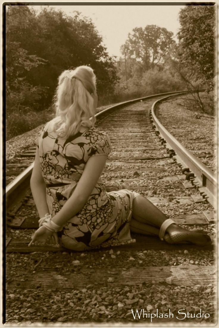 That interfere, Girl tied to tracks hope