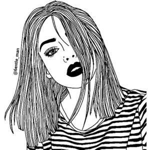163 best Cute Tumblr Drawings images on Pinterest  Drawings Girl