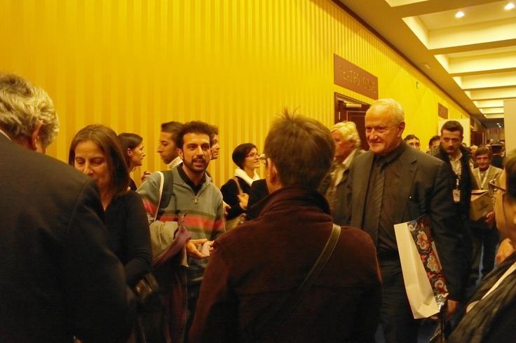 Il dr. Francesco Bandarin (Vice Direttore Generale dell'UNESCO per la Cultura) con Andrea De Pascale.