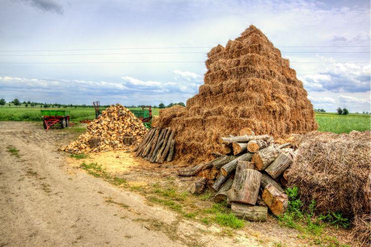 Polska wieś w HDR