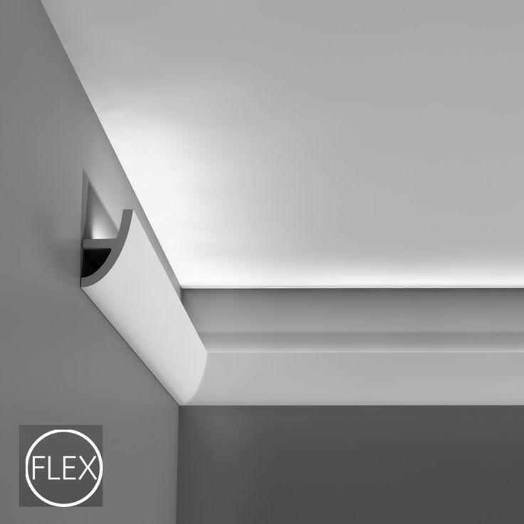 Cornice Multifunzionale C374 Le cornici in poliuretano Orac Decor sono distribuite da Bianchi Lecco in Italia. Tanti modelli per accogliere luci a LED o luci al NEON per illuminazione indiretta.