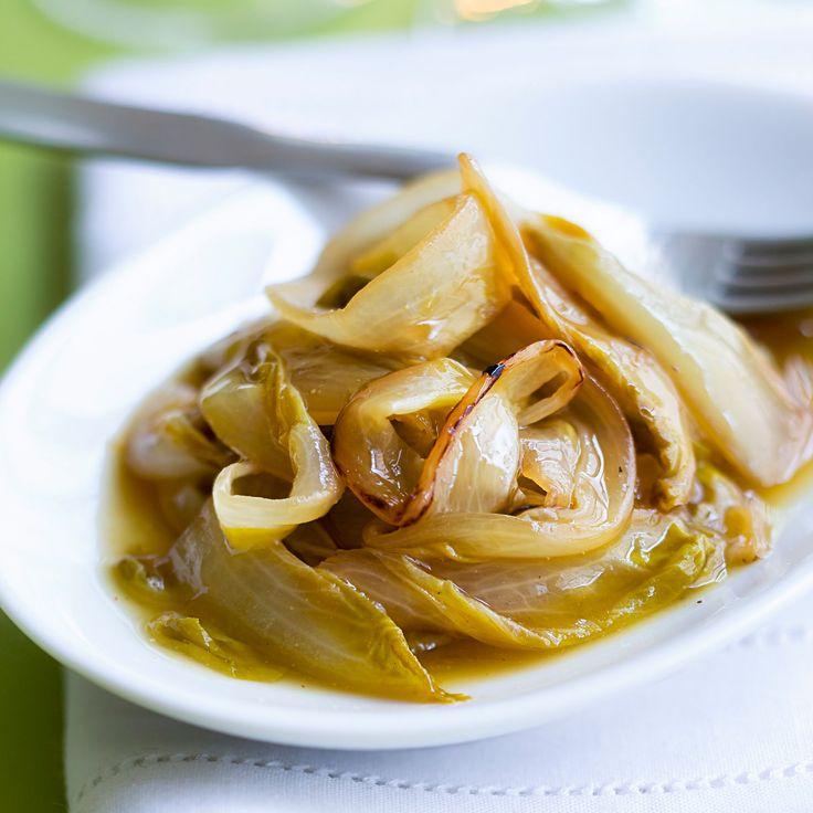 Découvrez la recette Endives braisées sur cuisineactuelle.fr.