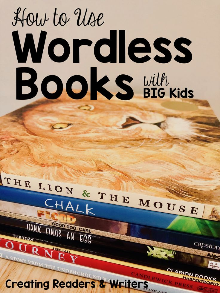 How to Use Wordless Books