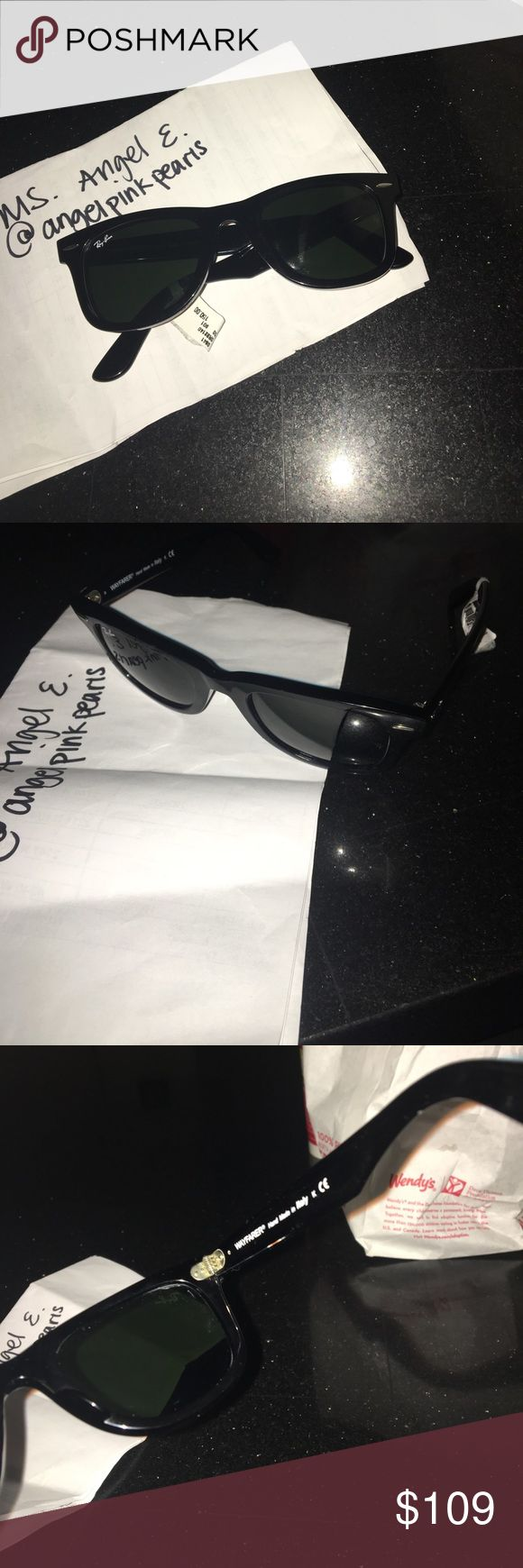 Ray Ban Wayfarer Sunglasses Ray Ban Wayfarer Sunglasses RB2140, boyfriend has 6 pairs and doesn't need another pair lol Ray-Ban Accessories Sunglasses