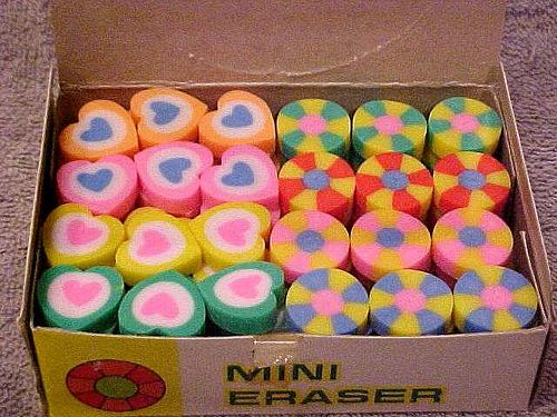 Image result for 1980s smelly rubbers