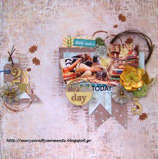 Mary's Crafty Moments: Happy Day
