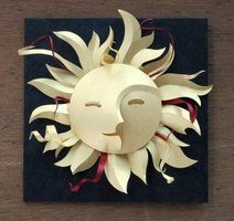 Sun Face by cloutierj