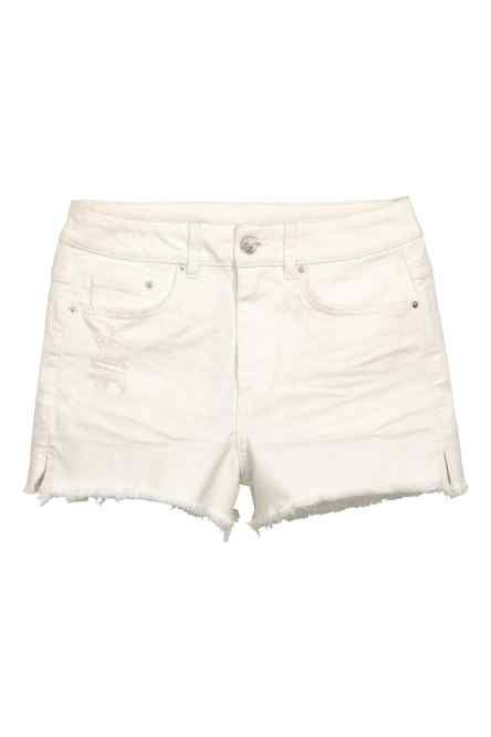 Shorts in jeans High Waist