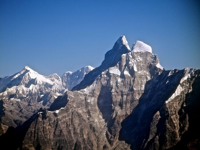 Mountain Gauri Sankar In The Himalayas