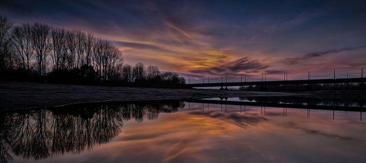 Arnhem Sunset by Daan Wagner on 500px