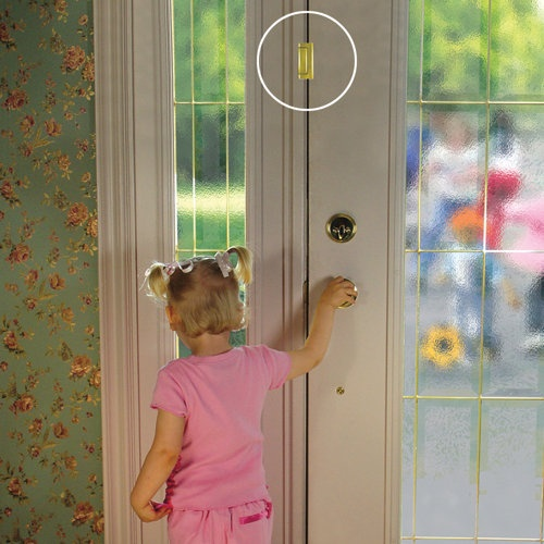 Door Guardian Childproof Door Lock For The Girls Front Door