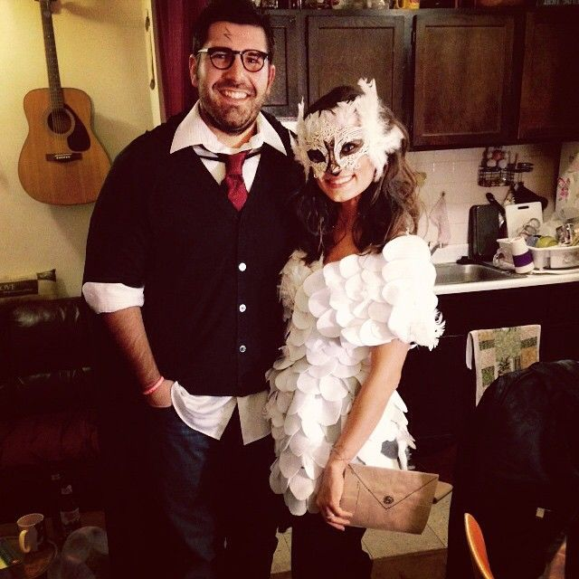Best 25 hedwig costume ideas on pinterest harry potter baby 51 flawlessly adorable harry potter couple costume ideas solutioingenieria Images