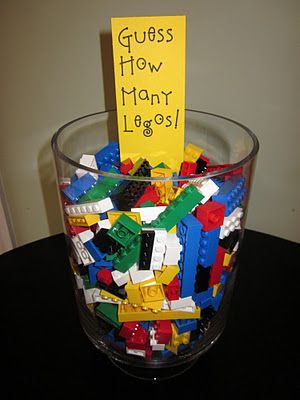 School Counselor Blog.  I pinned this for the LEGO guessing game idea and the LINK to the school counselor pinterest page that has more LEGO theme ideas. :)