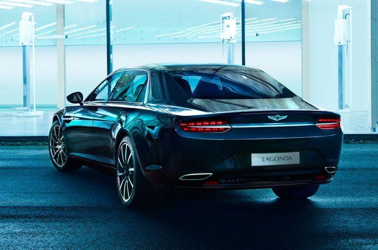 Aston Martin publica nuevas imágenes del sedán Lagonda - Bólido